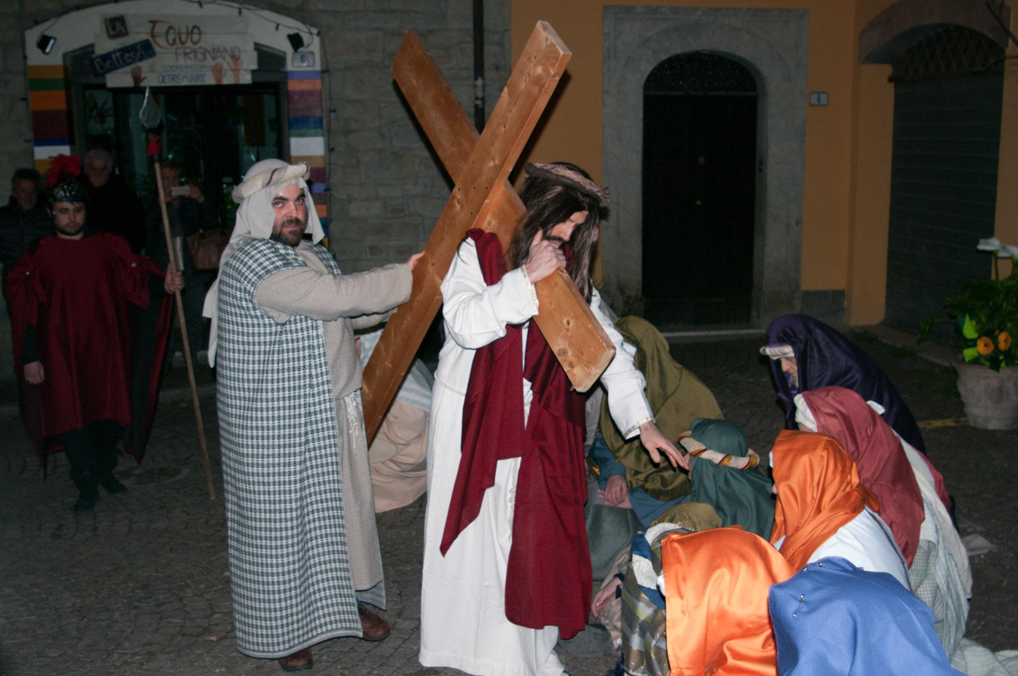 Miniatura per l'articolo intitolato:Via Crucis Vivente AVO